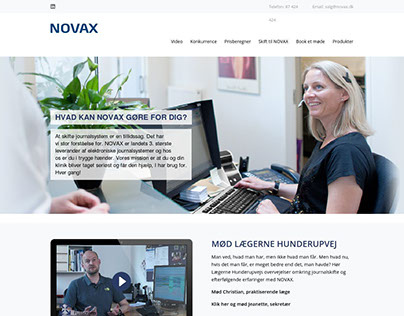 Novax - Web design for Wordpress