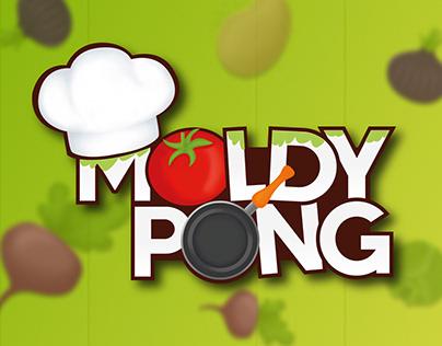 Design logo | Expérience jeu interactif | MoldyPong