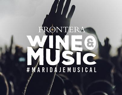 Frontera Wine & Music #MaridajeMusical