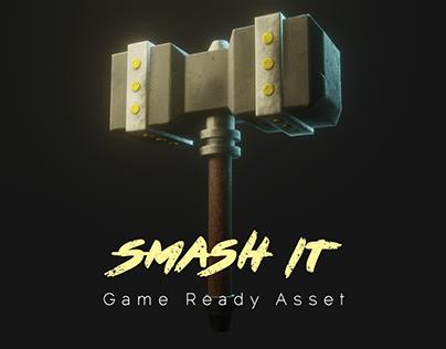 Smash it (Hammer) - game ready asset