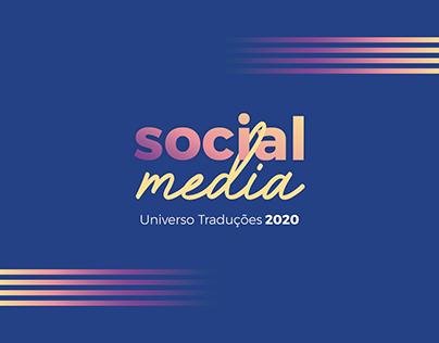 Universo Traduções | Social Media