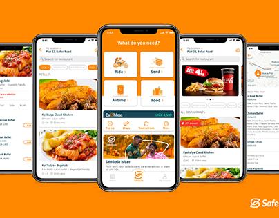 SafeBoda Food flow