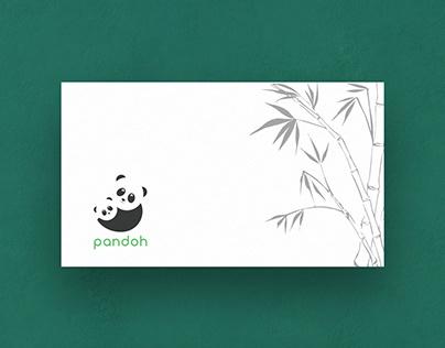 Pandoh Logo Design