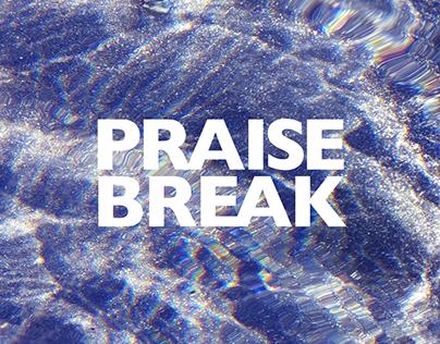 'PRAISE BREAK' - typographic lyric book