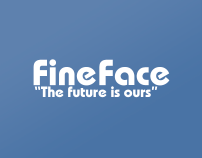 Дизайн макета социальной сети Fineface