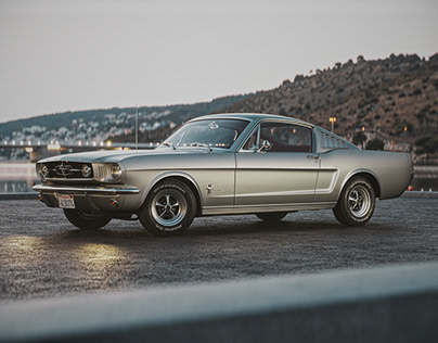 Ford Mustang Fastback 1965 - CGI