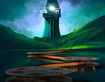 Magic Lantern Keepers - Illustration