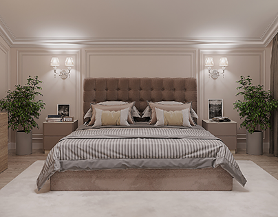 Visualization of the bedroom