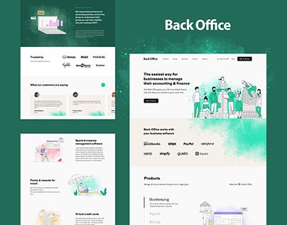 BackOffice Website