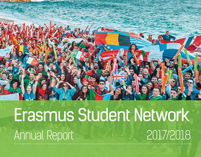 Erasmus Student Network - Annual Report 2017 - 2018