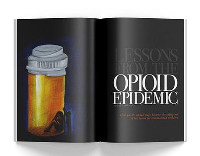 Opioid Epidemic - Editorial Illustration