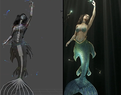 Magic Mirror - Mermaid AR