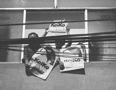 Marcha KeikoNoVa - 5deabril - Foto periodismo.