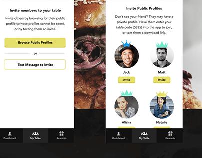 Q Perks Loyalty App Concept