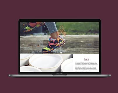 Oktookto web site