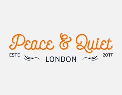 Peace & Quiet - Restaurant Branding
