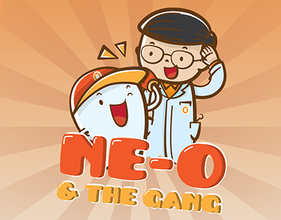 #Linecreatorsticker : Ne-O & The Gang