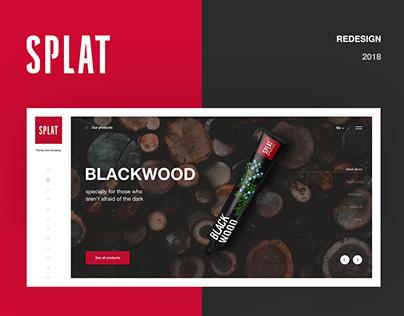 SPLAT / redesign website