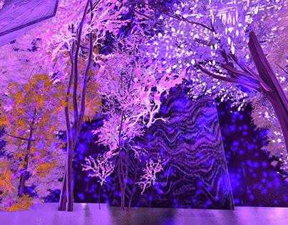 PurpleParticleRain // Artist