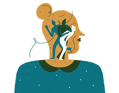Illustrations for Wonderzine