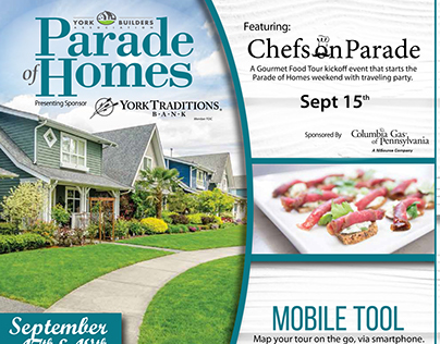 2016 Parade of Homes Newspaper Tab