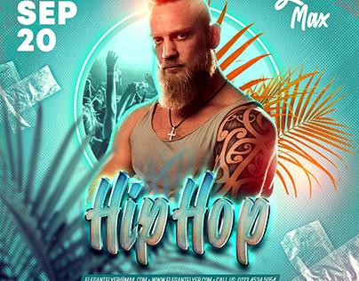 Hip Hop – PSD Flyer Template