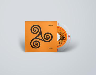 HOS-615 / CD Layout & Prepress