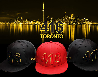 416 Toronot - The Cap Guys - Hat Design