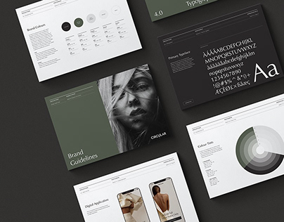 Odessa Brand Guidelines Adobe InDesign Template