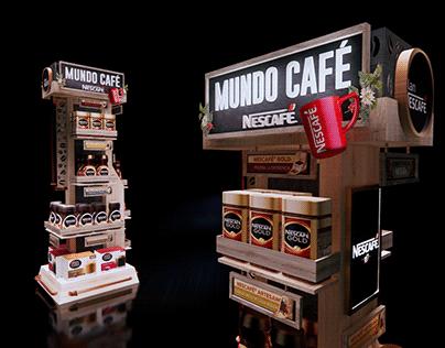 FLOOR STAND NESCAFÉ MUNDO CAFÉ