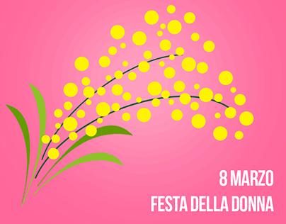 Ingrosso Fiori Gambin 8 March: Women's Day.