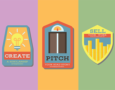 Create Pitch Sell | SCAD Promotional Material