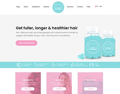 Haircarebear AU Branding & Website Design Project