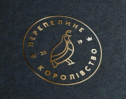 Перепелине королiвство - Logo design