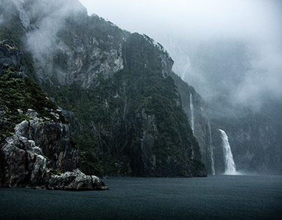 Milford Sound. New Zealand.