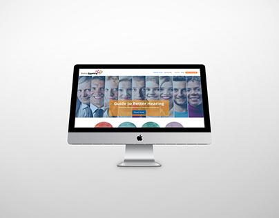 Better Hearing Guide Audiology Website Design