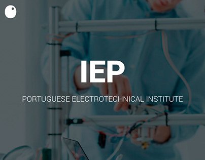IEP - Instituto Electrotécnico Português // Website