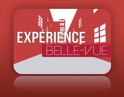"""App mobile : """"Expérience Belle-Vue"""" Projet BAC 2"""