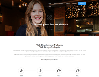 Corporate & Business Web Templates - Services Page