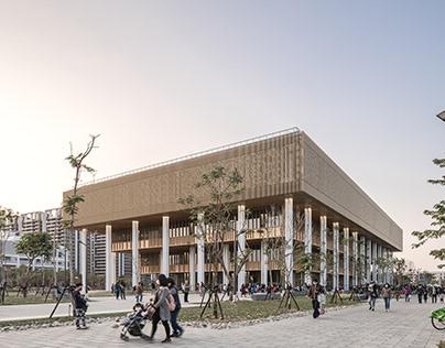Tainan Library/ mecanoo+ Mayu Architects