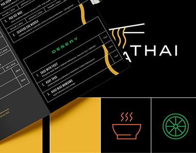 Pa Ta Thai Restaurant Branding