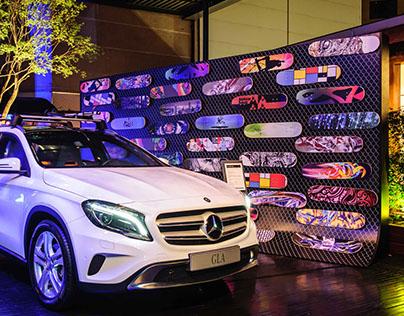Lançamento GLA        Mercedes-Benz