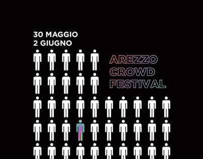 Poster Arezzo Crowd Festival