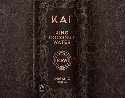 KAI Coconut Water - Presentation Pack.