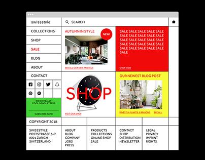Swiss Style — Web Design