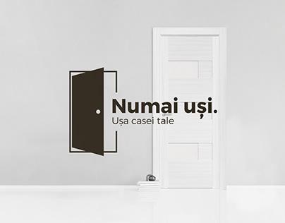 Numai Uși Branding