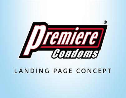 Landing Page - Premiere Condoms
