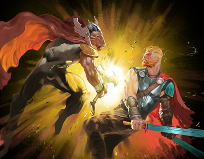 Thor Odinson vs Beta Ray Bill