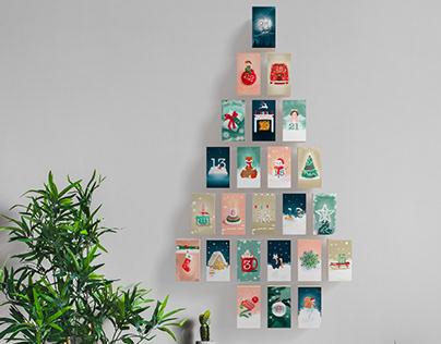 Merry Christmas, calendar