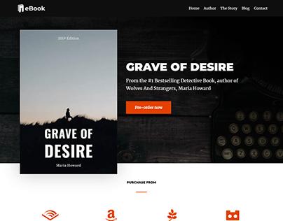 eBook WordPress website, Book website with woocommerce